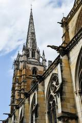 Clocher cathédrale  Sainte-Marie  Bayonne