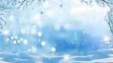 Fototapety winter  christmas background