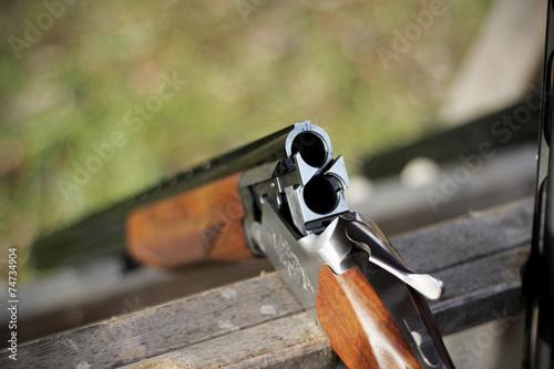 Plexiglas Jacht Skeet shooting