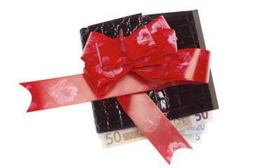 Euro into wallet