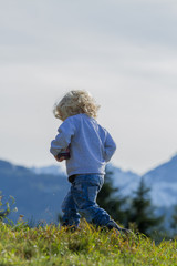 Wanderung im Gebirge - Tirol