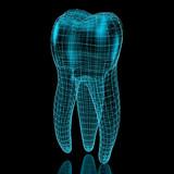 Fototapety Tooth mesh