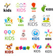 Zdjęcia na płótnie, fototapety, obrazy : biggest collection of vector logos children