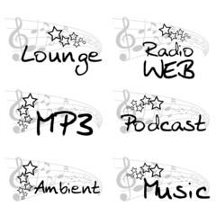 icons music