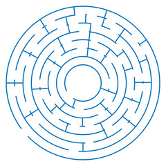 maze game on a white background