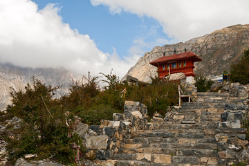 entrance to Muktinath temple
