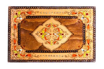 Bulgarian Wooden box top