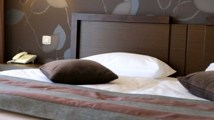 bedroom hotel interior