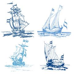 Stempel Schiffe