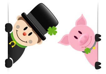 Chimney Sweeper & Pig Clover