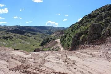 caminos mineros