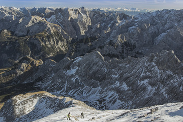 View from Alpspitze, Garmisch-Partenkirchen