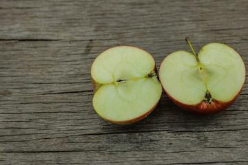 Половинка яблочек