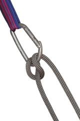 Absicherung mit Seilknoten