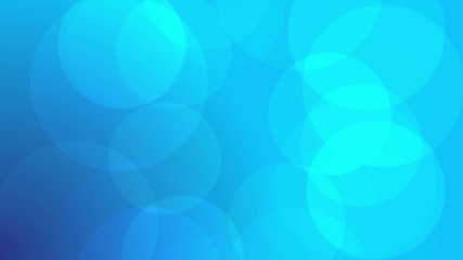 Soft and clean blue background with slow particles