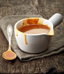 melted caramel sauce