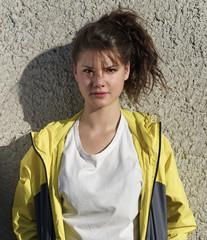 Italy, female teenager portrait