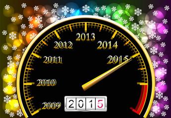 New Year 2015.