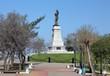 Monument of Nikolay Muraviev-Amursky in Khabarovsk, Russia