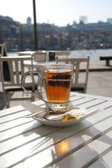 Tea in the sunshine