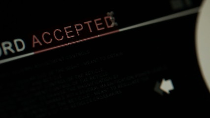 Accepted word is changed to rejected on a computer