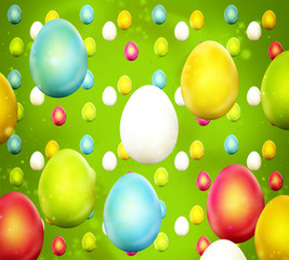 Easter Time Colorful Design