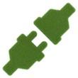 canvas print picture - grüne Energie