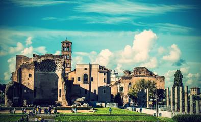 Vista dal Colosseo