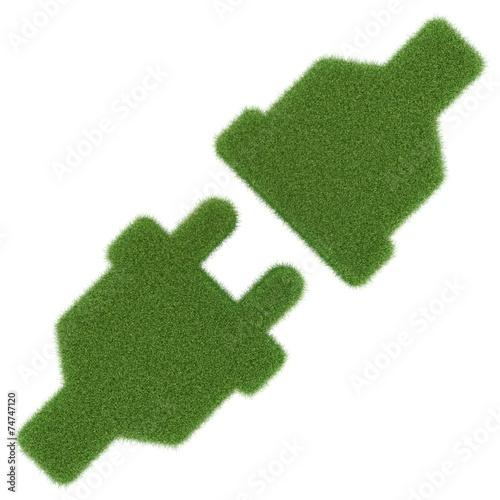 canvas print picture grüne Energie