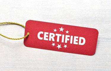 Certified - Label