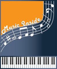 music inside color