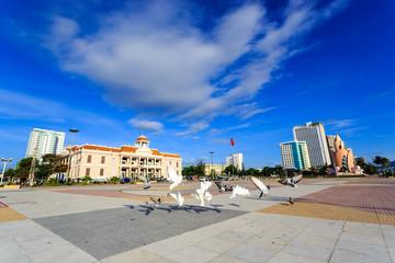 Main Town Square In Nha Trang, Vietnam
