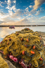 Fishing net in Sicily