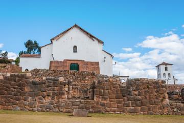 Chincheros town peruvian Andes  Cuzco Peru