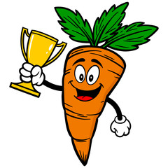 Carrot with Trophy