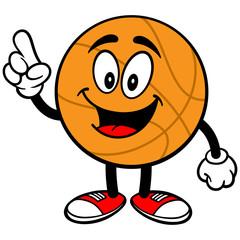 Cartoon Basketball Talking