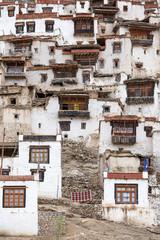 Chemdey Buddhist monastery in Ladakh, Jammu & Kashmir, India