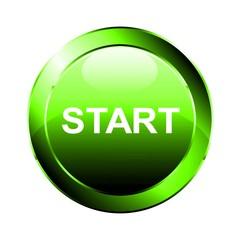 Start Button grün