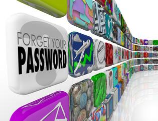 Forget Your Password Software App Account Program Internet Profi