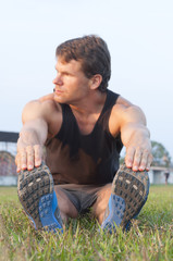 Pre-workout stretch