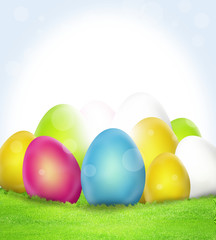 Easter Eggs Festive Design
