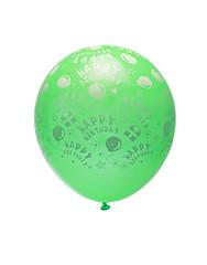 green balloon isolated