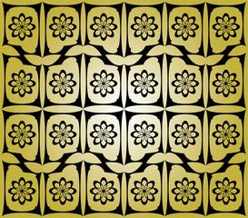 Sfondo dorato con forme geometriche
