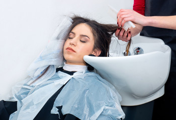 coloring hair preparation