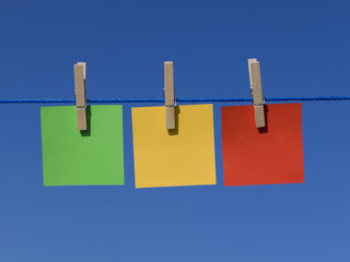 Colorful Hanging Notepads