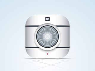 Stylish camera for photography.