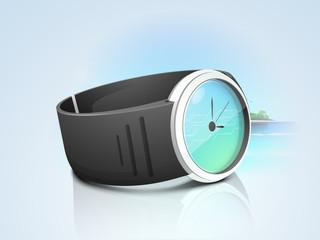 Stylish wrist watch for unisex.