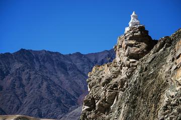 roadside stupas in ladakh india