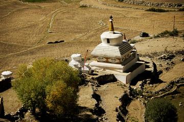 Roadside stupas