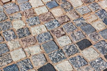 Tiled street